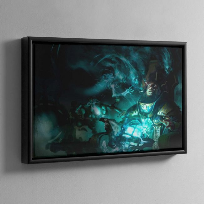 Malign Portents – Framed Canvas