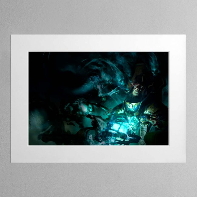Malign Portents – Mounted Print