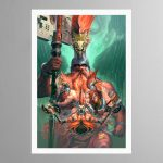 The Chosen Axes – Print