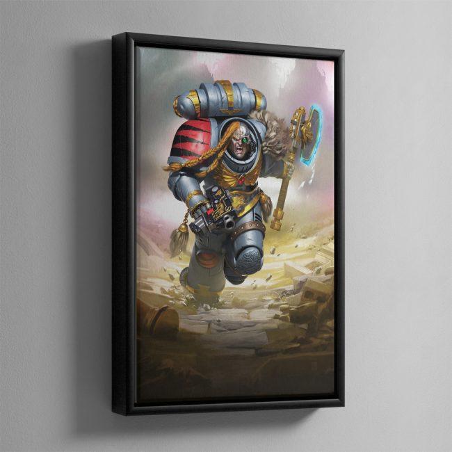 Ashes of Prospero – Framed Canvas
