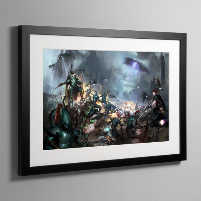 Realspace Raiders – Framed Print