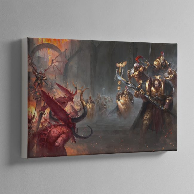 Watchers of the Throne The Emperor's Legion – Canvas