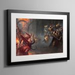 Watchers of the Throne The Emperor's Legion – Framed Print