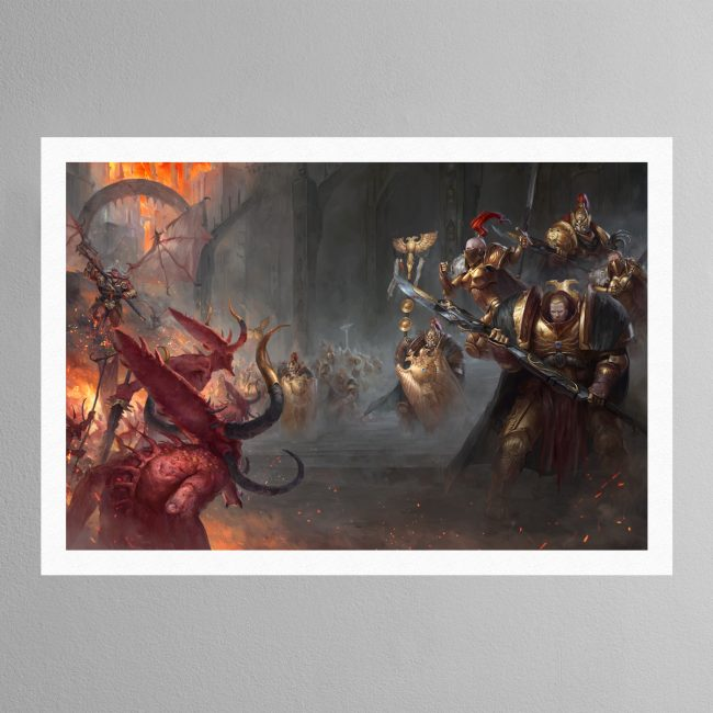 Watchers of the Throne The Emperor's Legion – Print