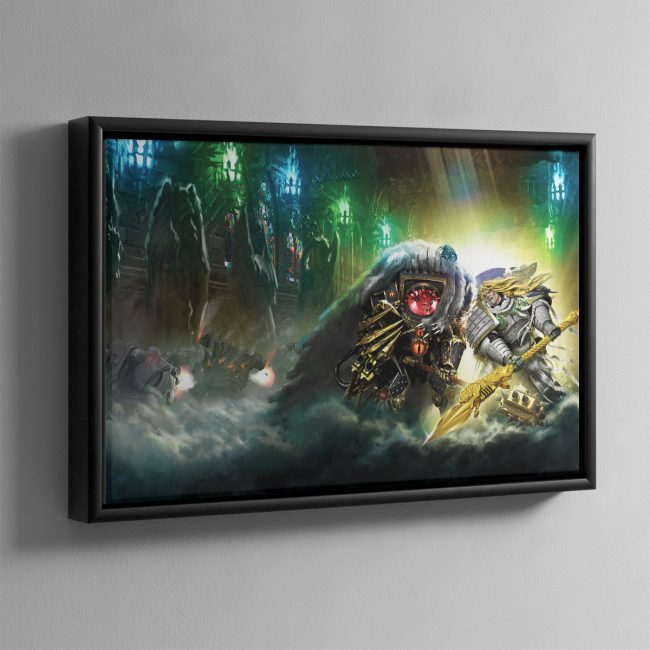 Wolfsbane – Framed Canvas