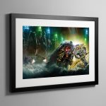 Wolfsbane – Framed Print