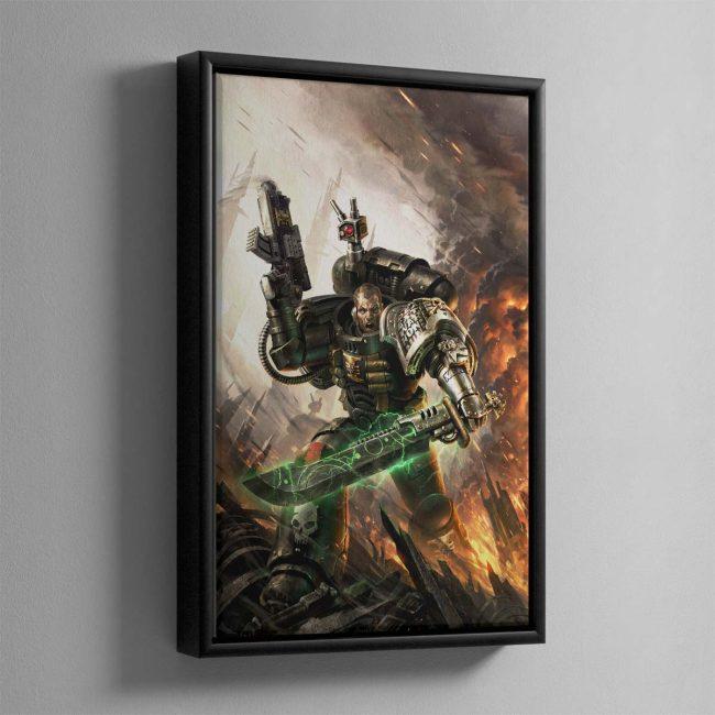 Deathwatch – Framed Canvas
