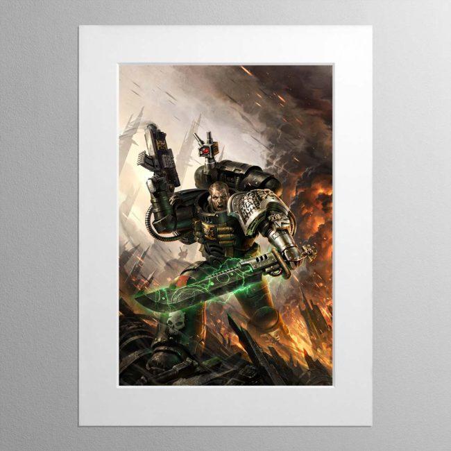 Deathwatch – Mounted Print