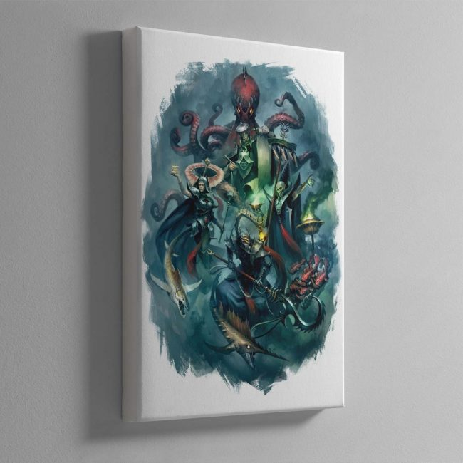 Heroes of the Idoneth – Canvas
