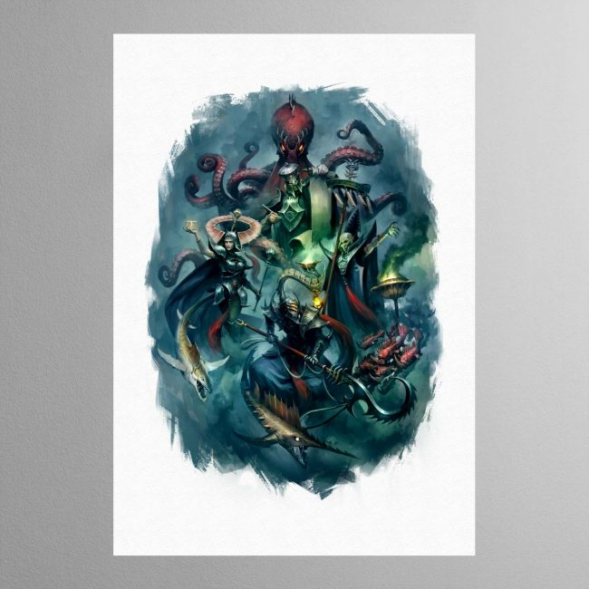 Heroes of the Idoneth – Print