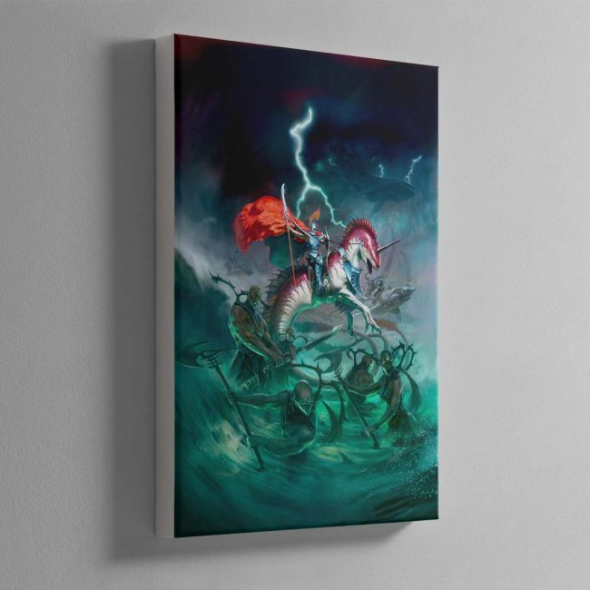 Idoneth Deepkin – Canvas