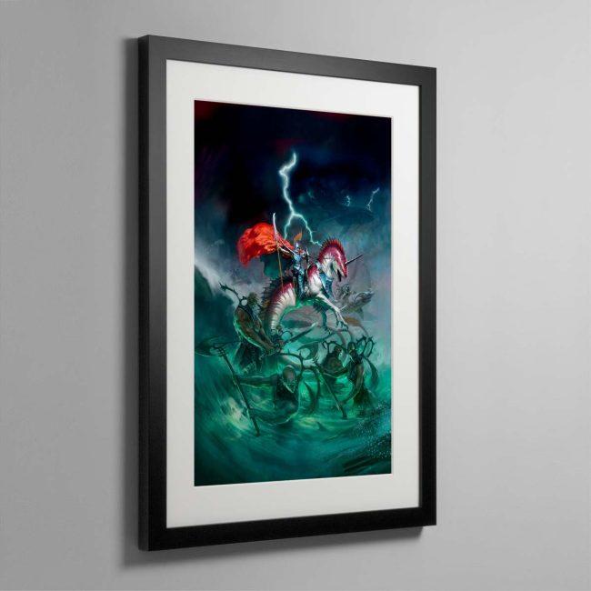 Idoneth Deepkin – Framed Print