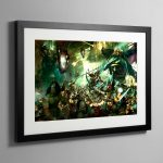 Sigmars Host – Framed Print
