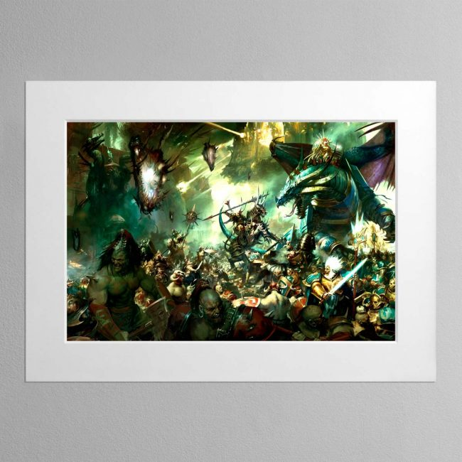 Sigmars Host – Mounted Print