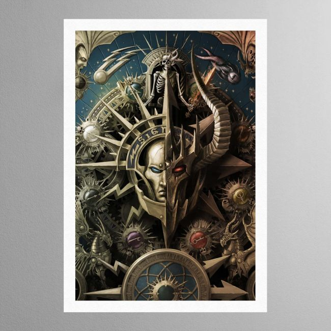 The Light and the Dark – Print