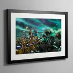The Soul Wars – Framed Print