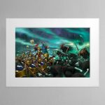 The Soul Wars – Mounted Print