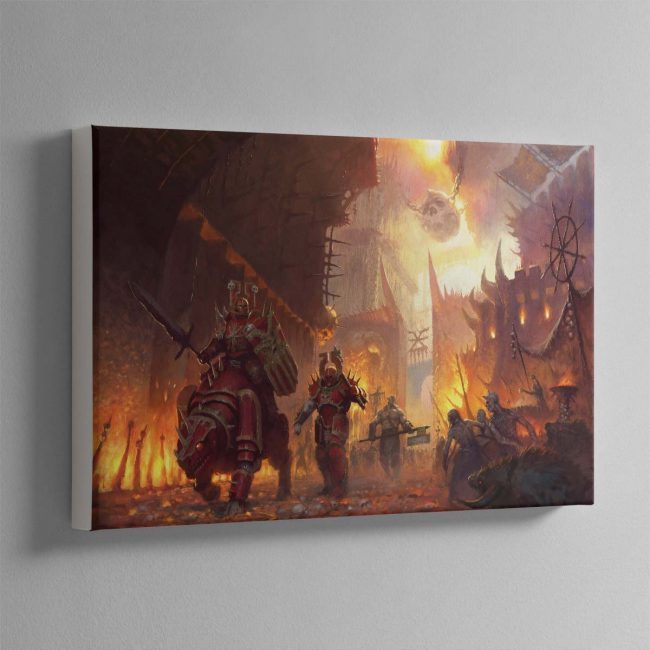 The dominion of Chaos – Canvas