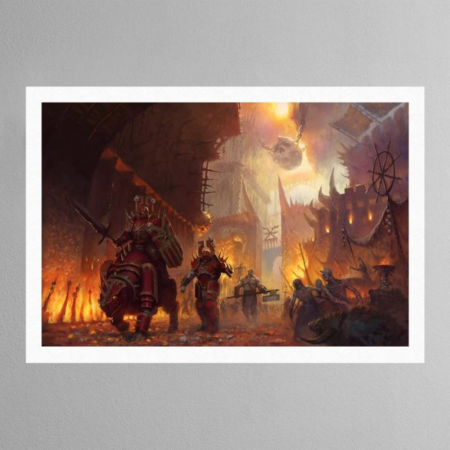 The dominion of Chaos – Print
