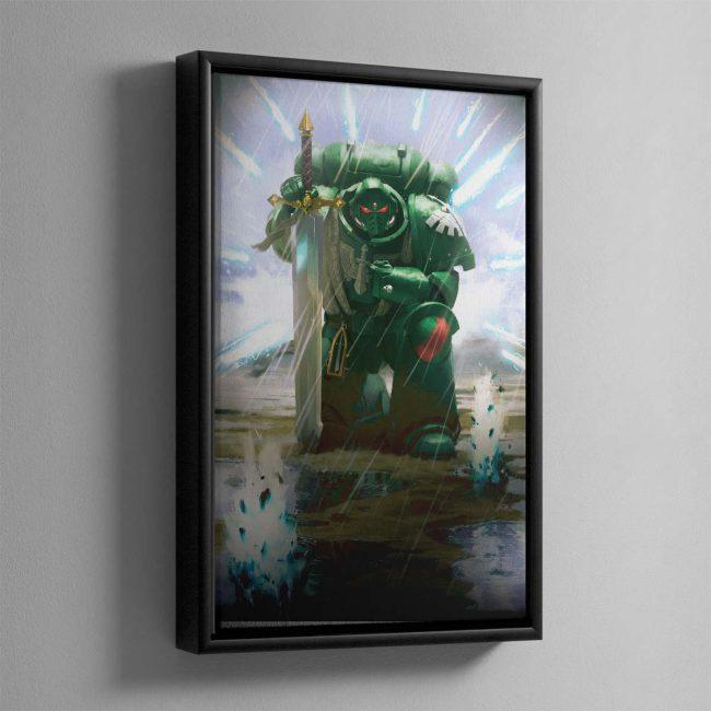 War of Secrets – Framed Canvas