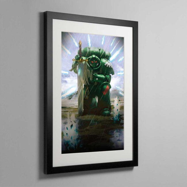 War of Secrets – Framed Print