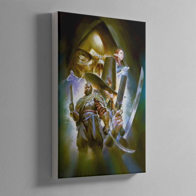 Callis and Toll The Silver Shard – Canvas