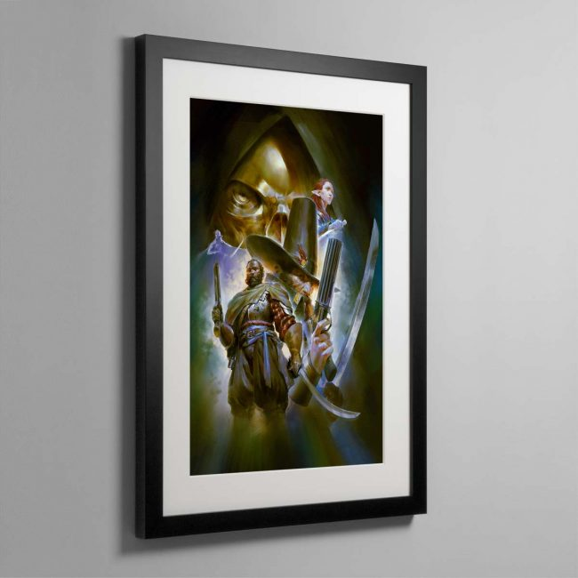 Callis and Toll The Silver Shard – Framed Print