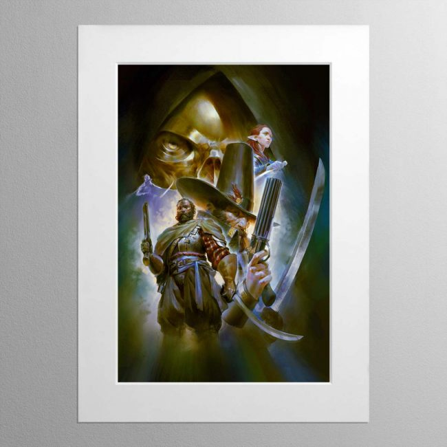 Callis and Toll The Silver Shard – Mounted Print