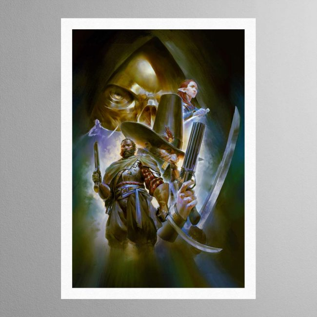 Callis and Toll The Silver Shard – Print