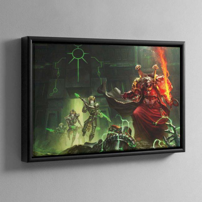 Mephiston Revenant Crusade – Framed Canvas