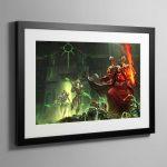 Mephiston Revenant Crusade – Framed Print