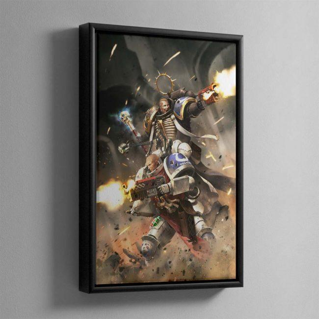 Blood of Iax – Framed Canvas