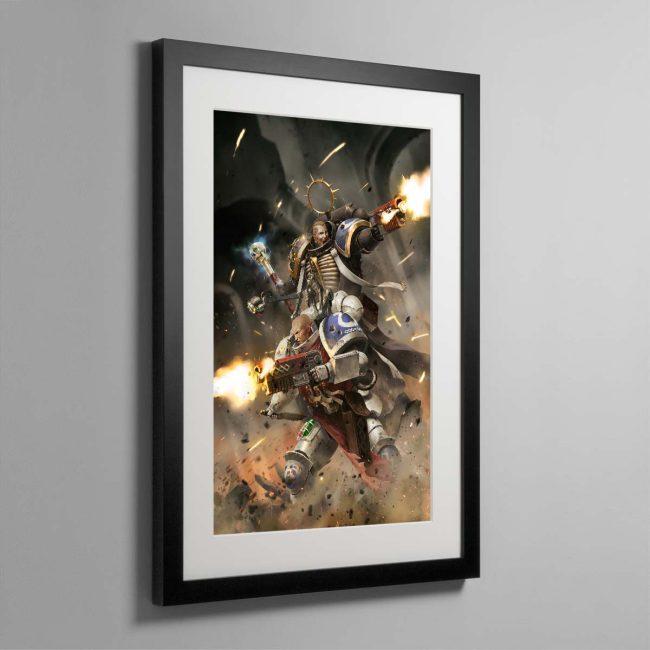 Blood of Iax – Framed Print