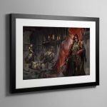 Ciaphas Cain Choose Your Enemies – Framed Print