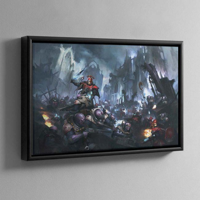 Kill Team Starter Set Cover – Framed Canvas