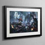 Kill Team Starter Set Cover – Framed Print