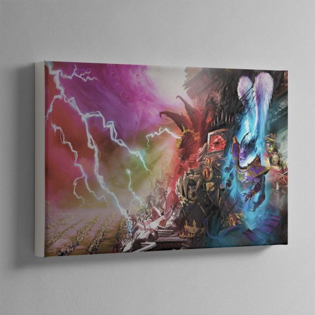 Slaves to Darkness – Canvas