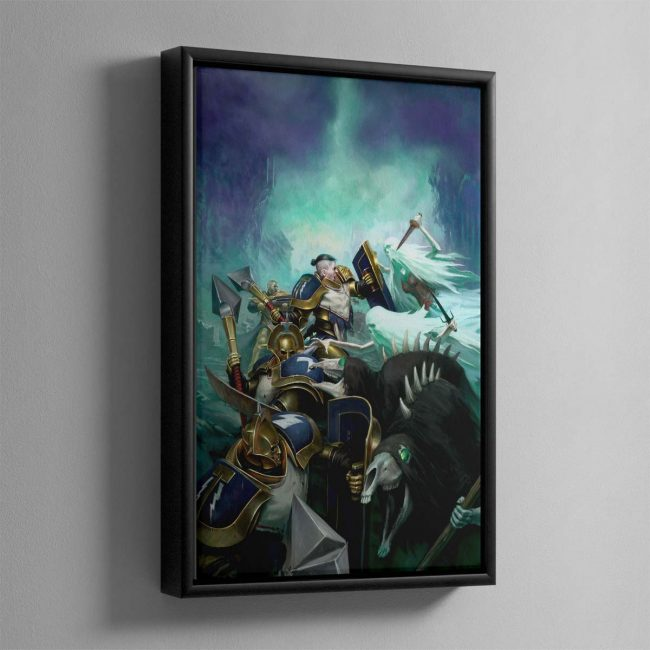 Stormstrike – Framed Canvas