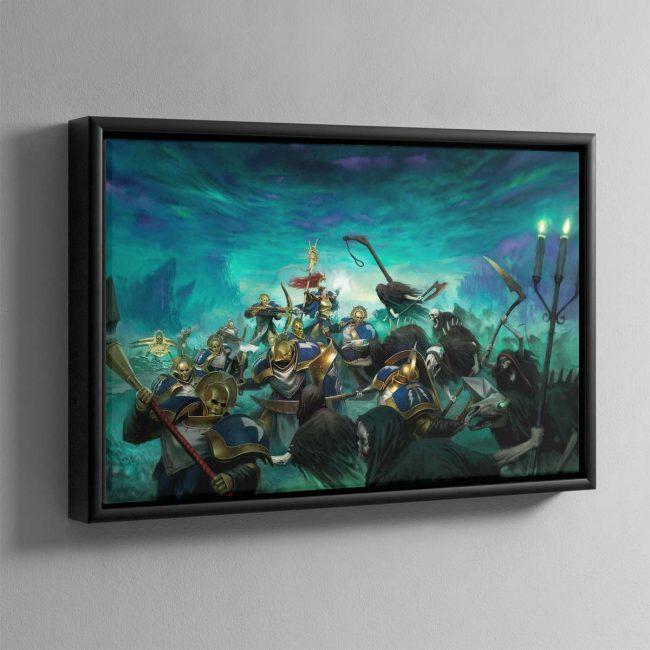Tempest of Souls – Framed Canvas
