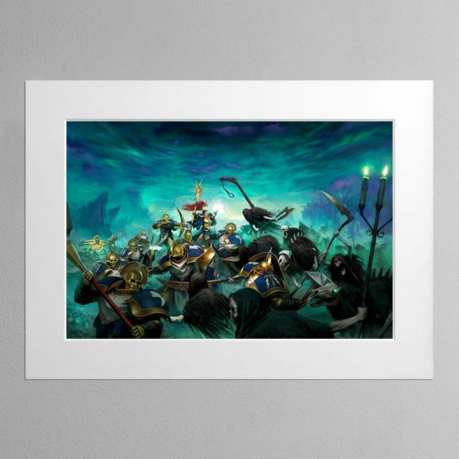 Tempest of Souls – Mounted Print