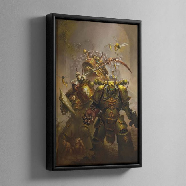 The Lords of Silence – Framed Canvas