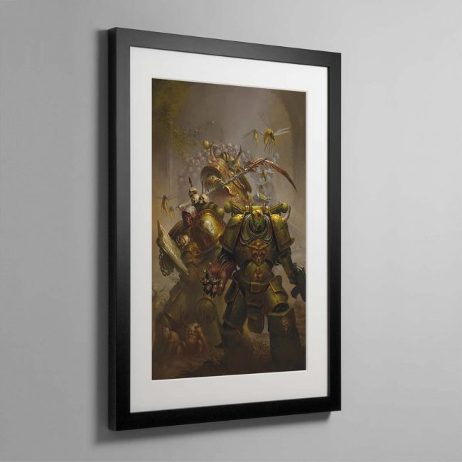 The Lords of Silence – Framed Print