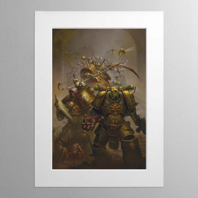The Lords of Silence – Mounted Print