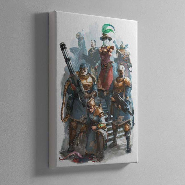 Elucian Starstriders – Canvas