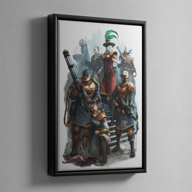 Elucian Starstriders – Framed Canvas