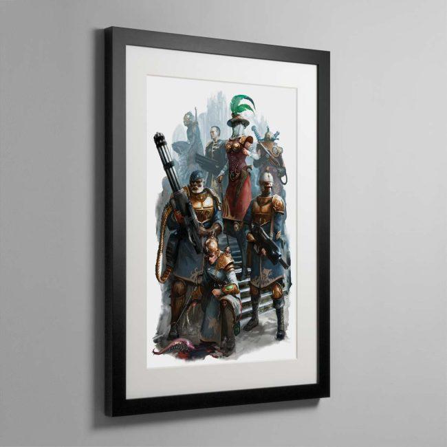 Elucian Starstriders – Framed Print