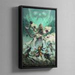 Nightvault – Framed Canvas
