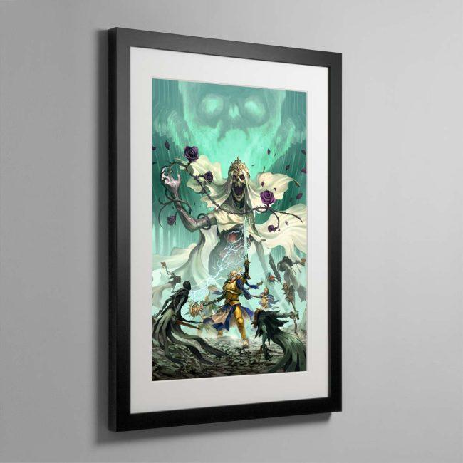 Nightvault – Framed Print