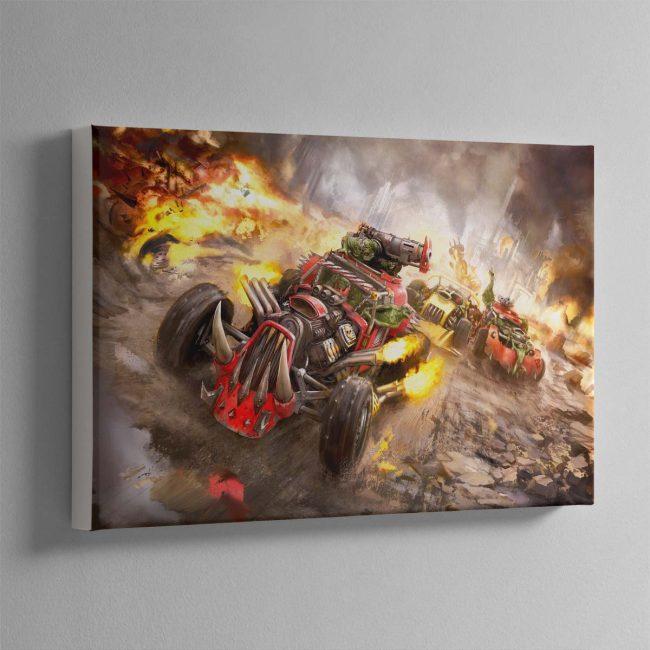 Speed freekz – Canvas
