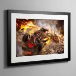 Speed freekz – Framed Print